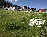 Ackerbau-Terrassen und Bieraria