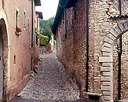 Historic trail on Monte San Giorgio