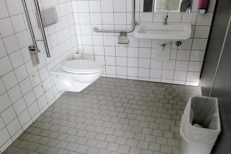 WC Bahnhof Rapperswil
