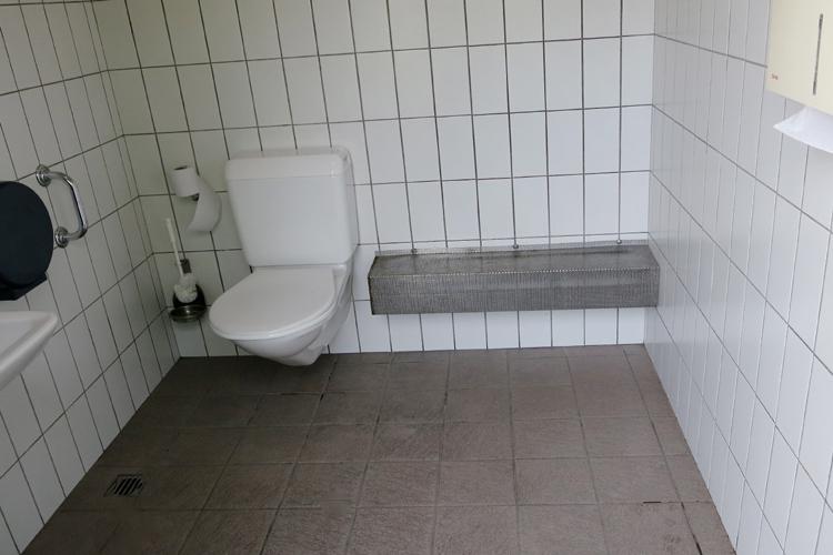 WC Feuerwehrstützpunkt Bollingen