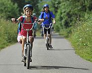 Ausfahrt mit dem Trotti-Bike