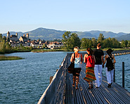 Rapperswil-Hurden Wooden bridge