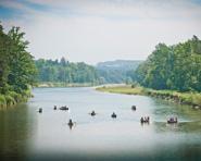 Geführte Tour: Kanufahrten auf der Thur und Rhein
