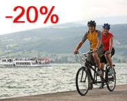 Vélo-Golf Lac de Morat – moins cher avec les TP