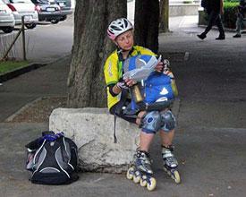Vom Bodensee zum Neuenburgersee in 4 Tagen per Skates