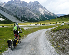 L'Alpine bike au plus proche de la nature