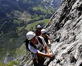 Klettersteig In English : Klettersteig via ferrata wanderland