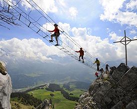 Klettersteig Nähe Zürich : Klettersteige seilpark wanderland