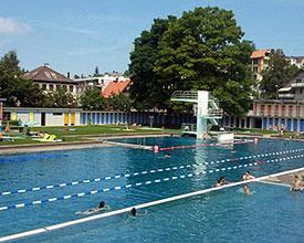 Outdoor swimming pool Heiden