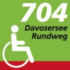 Davosersee Rundweg